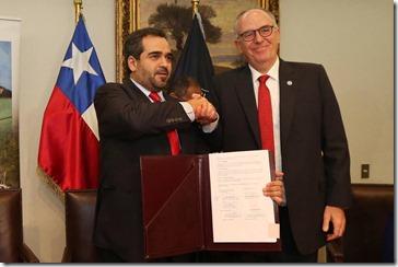 Senador Quintana y FAO