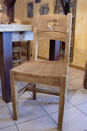table chaise de cuisine