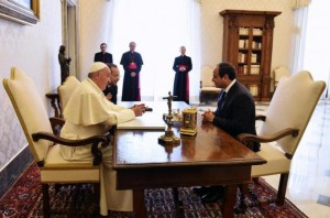 Alsisi and Vatican Pope