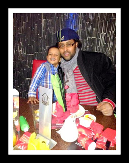 Mohamed and his son
