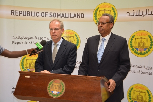 Somaliland Ministry of Foreign Affairs and Ambassador Geert Aagaard Andersen