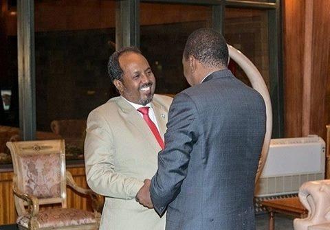 Xasan Sheekh iyo Uhuro Kenyatta