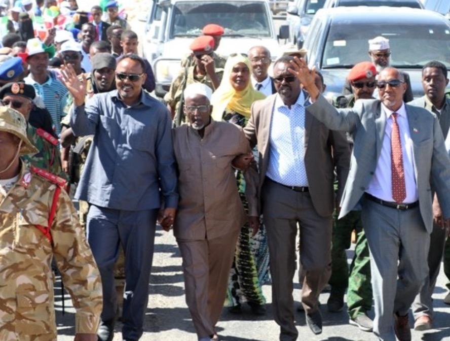 Madaxweynaha Somalikand Muuse Bixi Ceergaabo