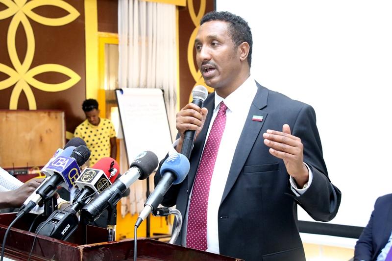 Wasiirka Qorshaynta Somaliland, Mudane Cawaale Ibraahin Shirwac