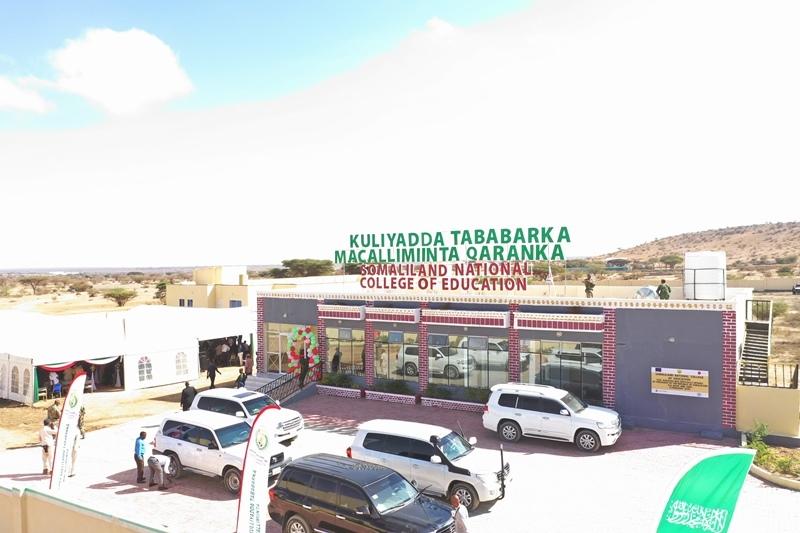 Hargeysa: Muuqaalka Dhismaha Kulliyadda Tababarka Macalimiinta Somaliland 6 February 2019, by Araweelo News Netork