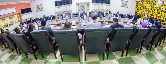 Kal-fadhigii 29-aad ee golaha wasiirradda Jamhuuriyadda Somaliland. Araweelo News Network.