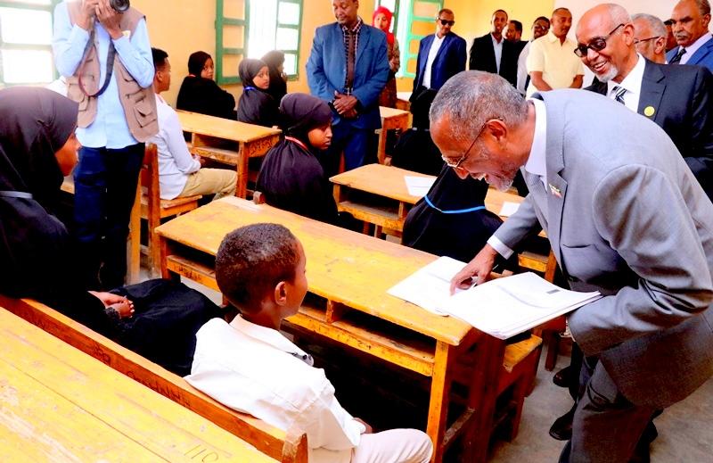 Madaxweynaha Jamhuuriyadda Somaliland oo furay Imtixaanaadka shahaadiga ah ee Dugsiyada Dalka 15 jun 2019.