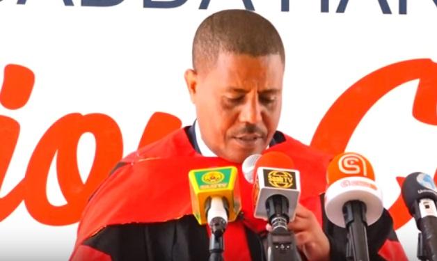 Dr. Kindeya Gebrehiwot, President of the Mekelle University, 29 August 2019