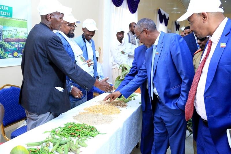 Madaxweynaha Somaliland Muuse Biixi oo ka qaybgalay maalinta cuntada Aduunka oo lagu xusay Hargeysa