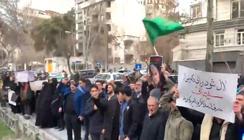 Banaanbax ka dhacay Tehran oo lagu canbaaraynayo dilka, Major General Qassem Soleimani 3 Jan 2020