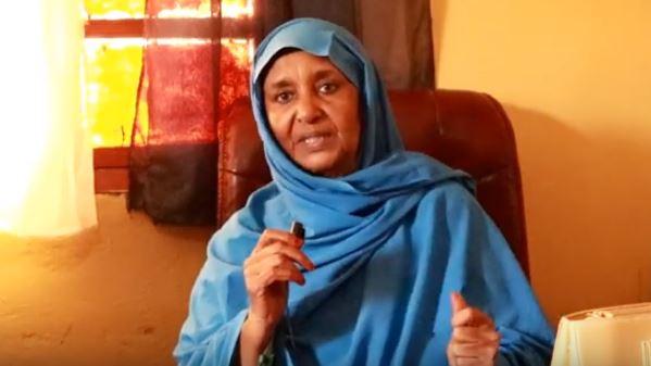 Marwo Amran Cali Xiis  oo ka mid ah shaqsiyaadkii  aasaasay Dugsiga Caruurta baahiyaha gaarka ah qaba  ee aan awoodin inay hadlaan (Hargeisa Children Learining Cente).Araweelo  News Network 11March  2020.