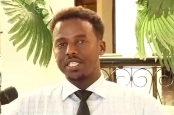 Guddoomiyaha Ururka Suxufiyiinta Somaliland ee loo gaabiyo SOLJA, Sakariye Axmed Muxumed, 5 jan 2021, Araweelo News Network.