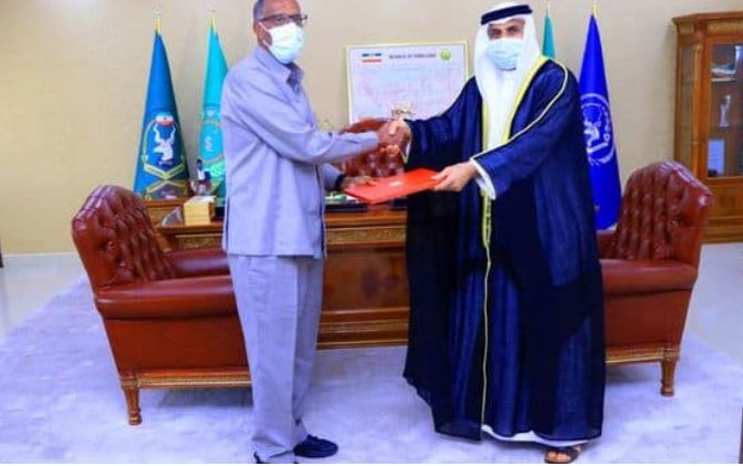 Somaliland President Receives Credentials From New UAE Ambassador