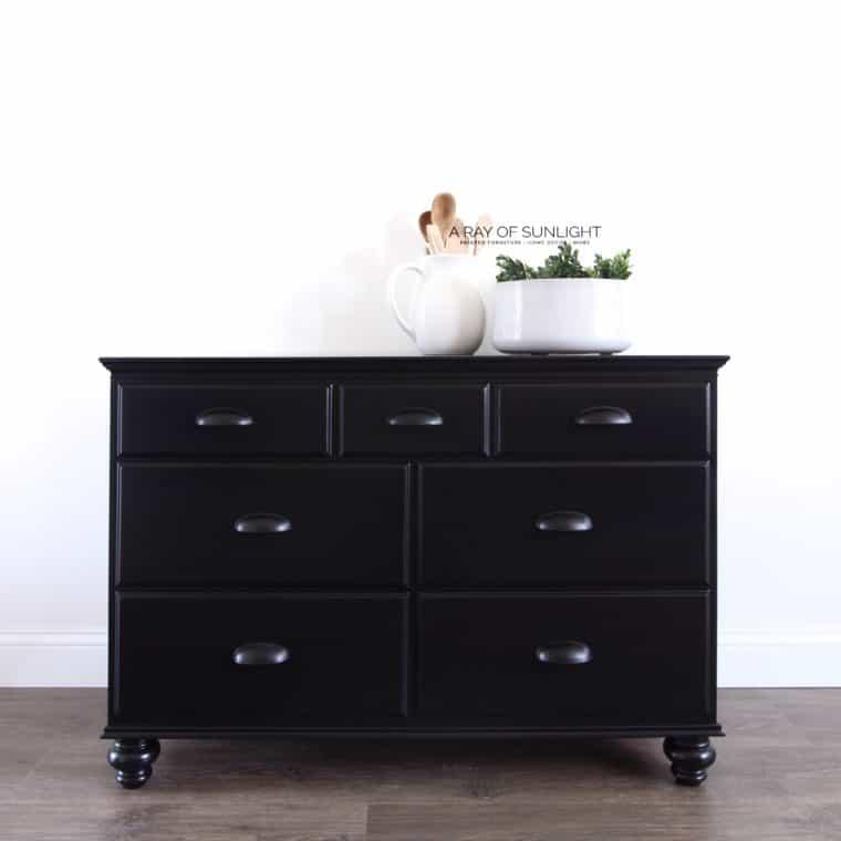 the black farmhouse dresser
