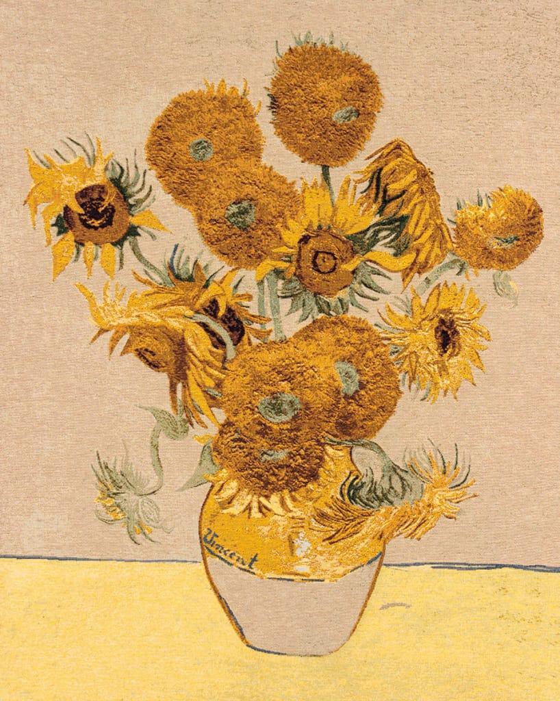 Girasoli Van Gogh Da Colorare