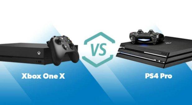 Xbox One X PS4 Pro