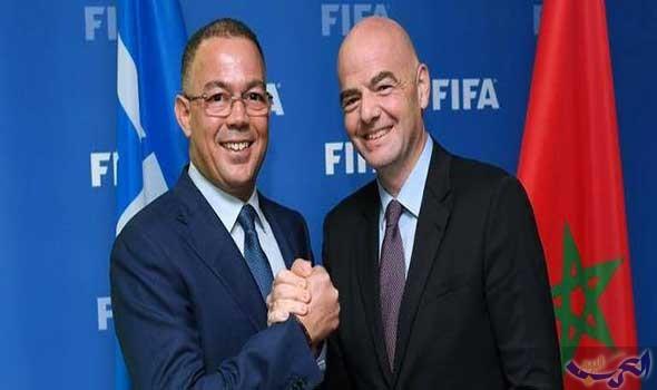 رئيس الاتحاد الدولي إنفانتينو يغيب عن مباراة الوداد والأهلي