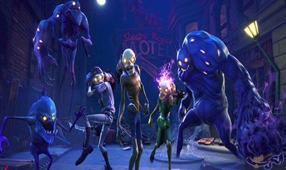 الكشف عن تحديث الـhalloween لطور battle royale من لعبة fortnite