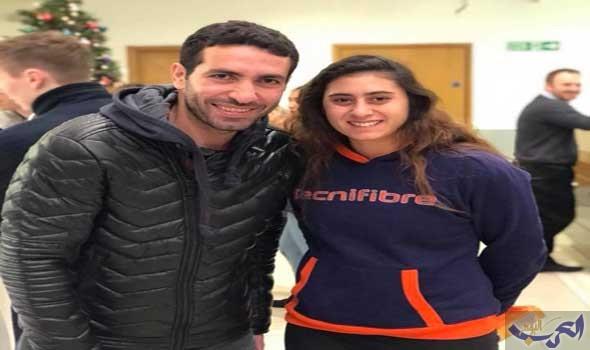 أبو تريكة يساند منتخب الإسكواش المصري خلال بطولة العالم في مانشيستر