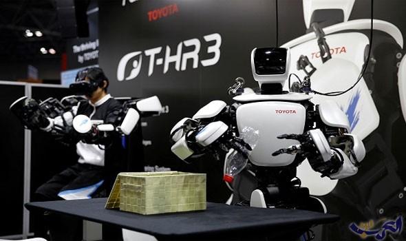 روبوت thr3 من تويوتا يشارك فى معرض الروبوت الدولى 2017
