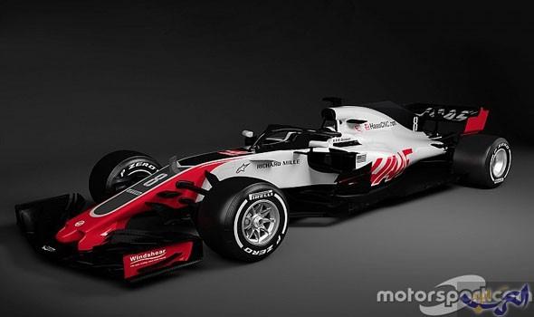 هاس أول فريق في فورمولا 1 يكشف عن سيارته في 2018