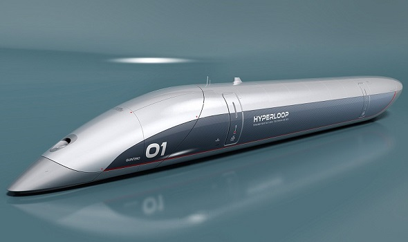 """وسيلة النقل """"هايبرلوب"""" عالية السرعة"""