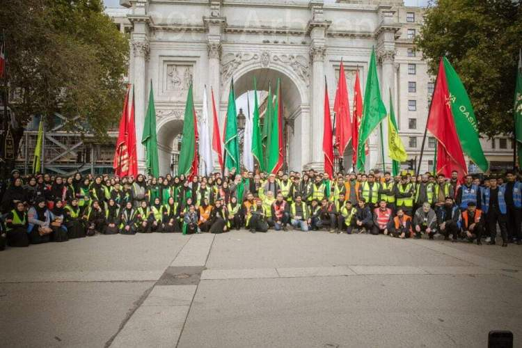 39th Arbaeen Procession London 2019 (Volunteers)