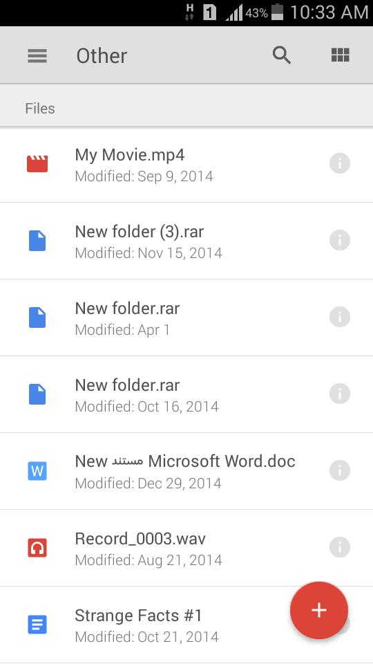 Screenshot 2015 10 18 10 33 26 - تعرف على كيفية حفظ الملفات والصور على Google Drive واسترجاعها بدون انترنت