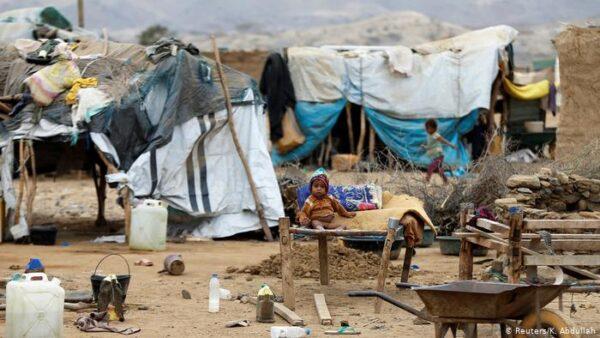 معاناة اليمن