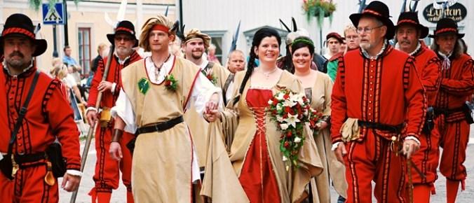 Bröllop Arboga Medeltid
