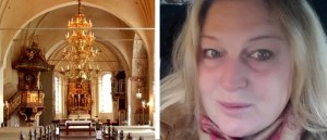 Hanna Drakengren i Heliga Trefaldighets kyrka