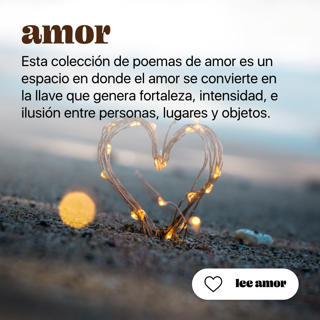 Colección de poemas de amor | Arbol Fugaz