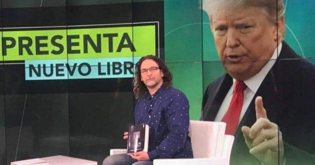 """Orlando Luis Pardo presenta su libro """"Espantado de todo me refugio en Trump"""""""