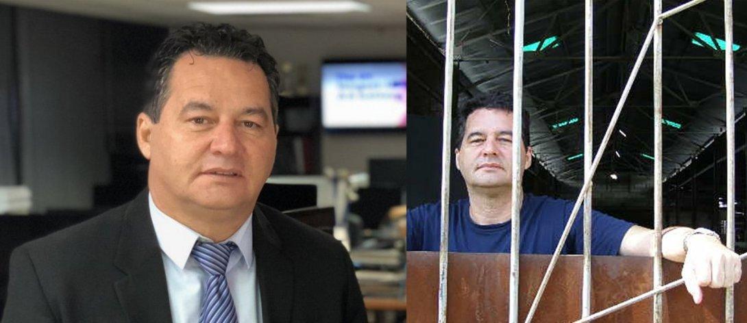 Escritor Ángel Santiesteban, preso y liberado.
