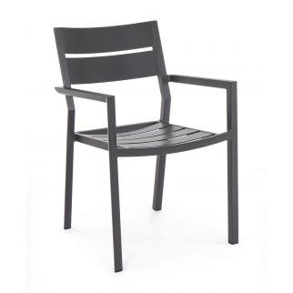 fauteuil de jardin avec coussin skipper