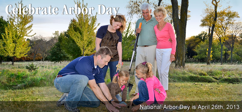 Arbor Day • Planting the seeds of tomorrow today.