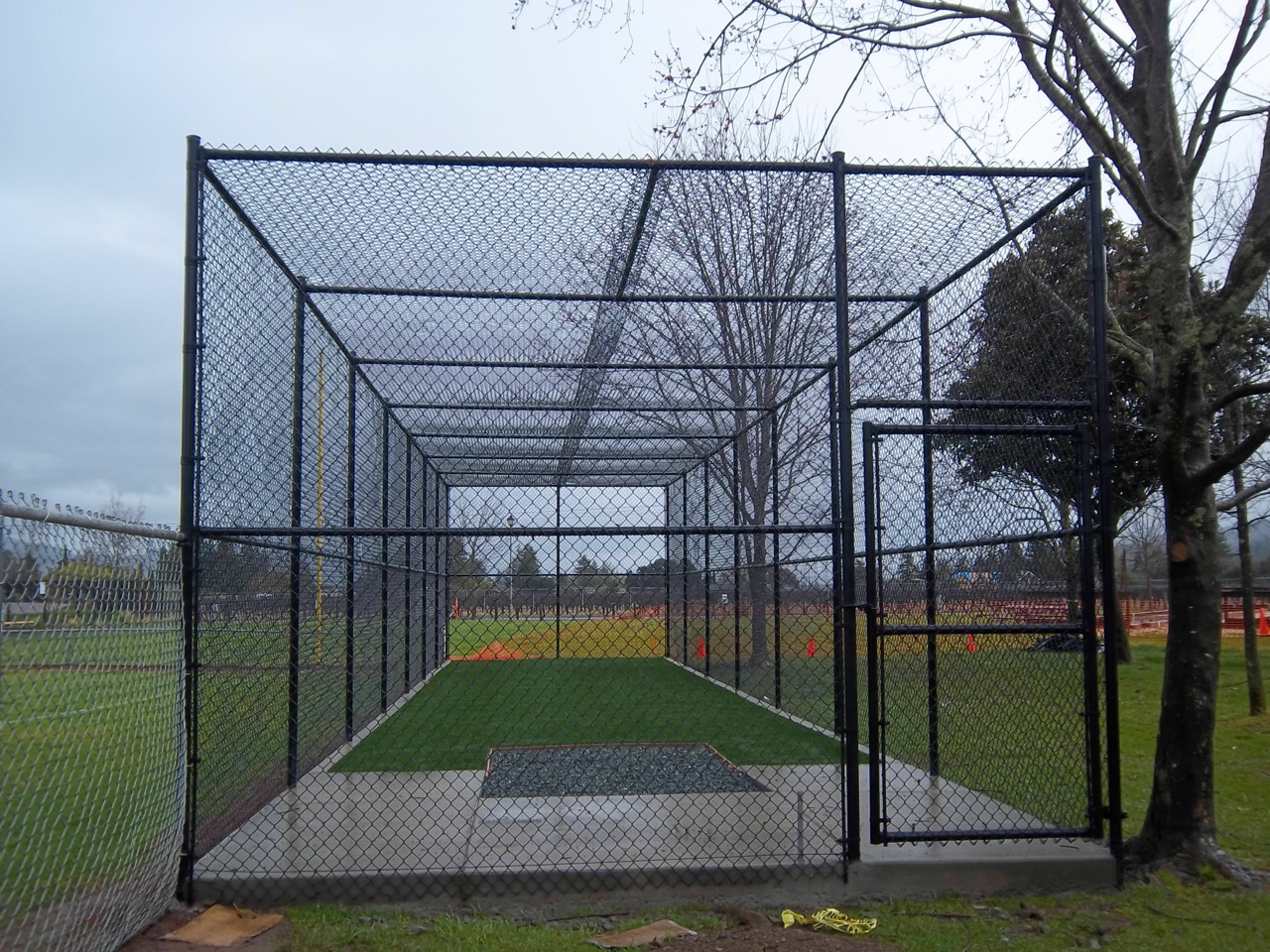 Baseball Backstops  Arbor Fence Inc  a Diamond Certified