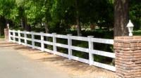 3 RAIL VINYL FENCE  Arbor Fence Inc   a Diamond Certified ...