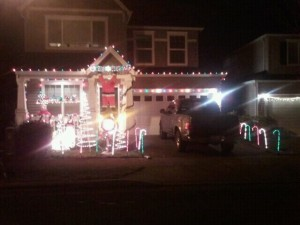 2011 Holiday Light - 1st Place