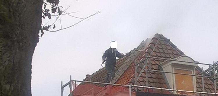 dakpannen spuiten