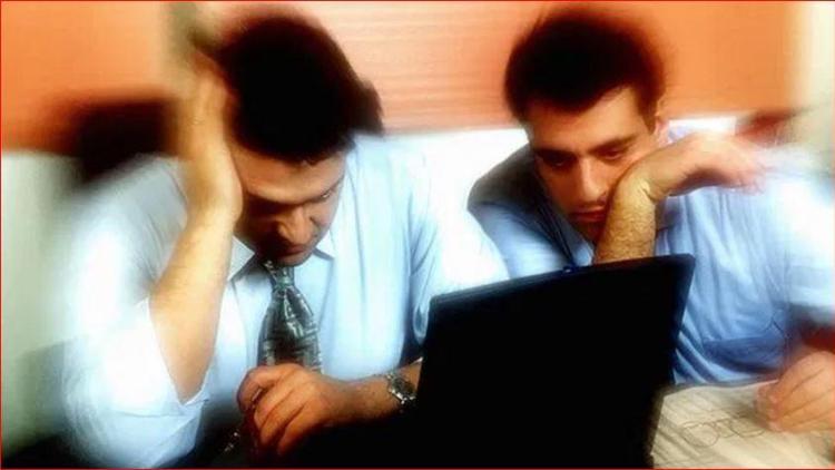 werkstress mannen
