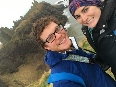 Visiting our first castle.. Dunnottar.