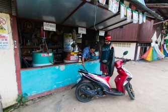 gas, moped, Pai, Thailand, arboursabroad