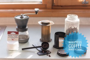 Gear Review : Aeropress Coffee Maker : Our Go To Morning Coffee Maker That's Ready Within Minutes