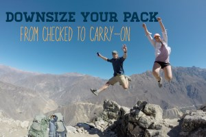From Checked to Carry-On | Downsizing Your Luggage