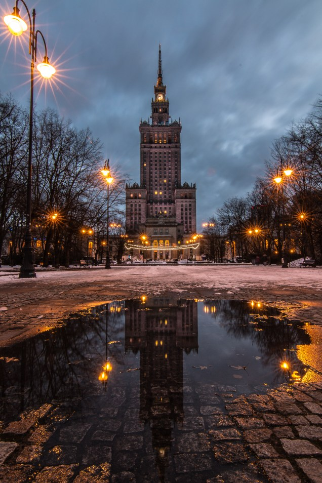 Palace of Culture and Science, Warsaw, Poland, arboursabroad