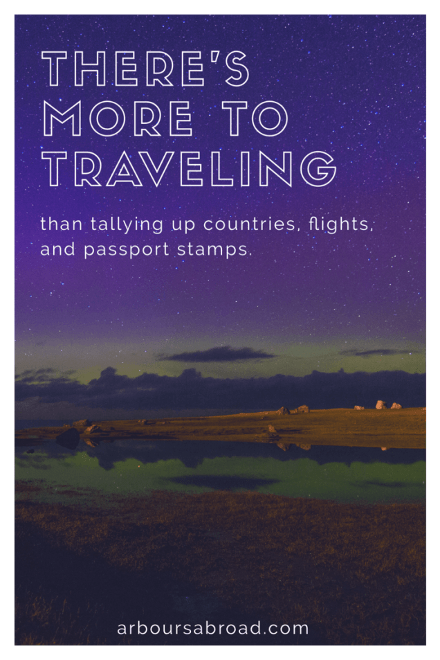 why we travel, northern lights, arboursabroad, travel inspiration
