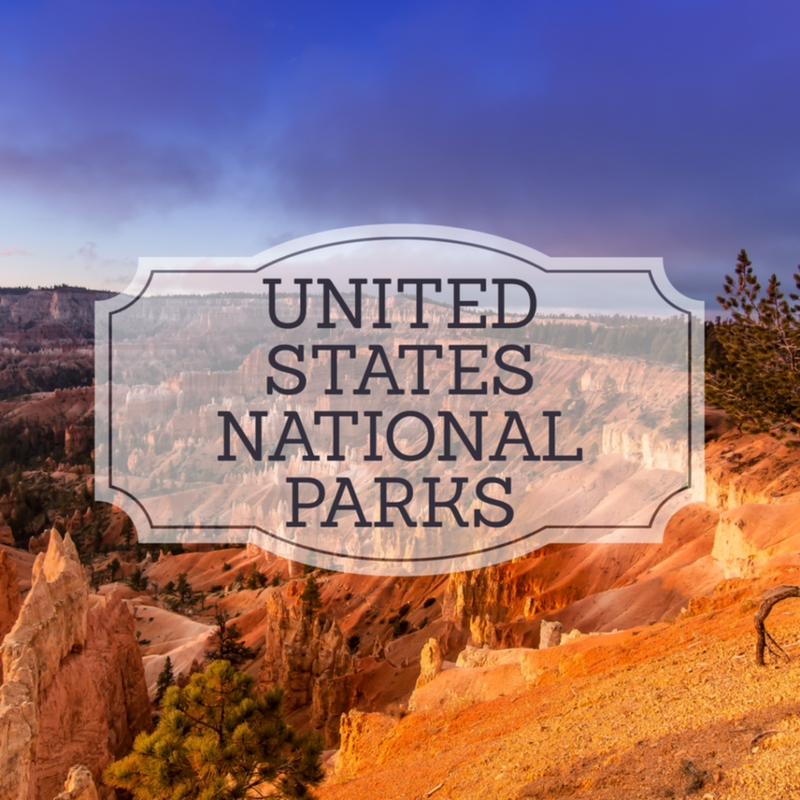 United States National Parks, National Parks, arboursabroad, travel inspiration