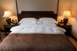hotel bed, inviting bed, Marcliffe Hotel and Spa, Aberdeen, Arboursabroad
