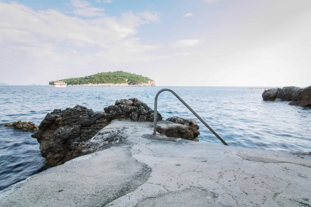 swimming in Dubrovnik, Adriatic Sea, swimming hole, things to do in Dubrovnik, arboursabroad